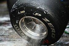 Formel 1 - Gr�n und weiss: Pirelli experimentiert mit Reifen-Markierungen