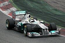 Formel 1 - Schritt f�r Schritt: Mercedes r�stet auf