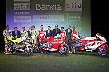 MotoGP - Sechs Piloten in allen Klassen: Aspar-Pr�sentation in Madrid