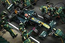 Formel 1 - Rolle r�ckw�rts von Trulli: Lotus plagt sich mit zahlreichen Problemen
