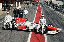 Formel 1 - In der Vergangenheit schnell: Karthikeyan ohne Sorge und Erfahrung