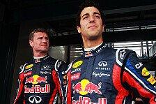 Formel 1 - Vettel gefordert: Coulthard: Druck nicht bei Ricciardo