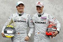 Formel 1 - Zeitgem��er Teamkollege w�re besser: Hill: Schumacher nicht ideal f�r Rosberg