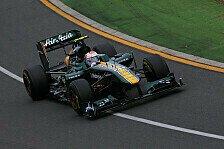 Formel 1 - Alles Gute f�r die Mannschaft: Hunt unterst�tzt Team Lotus wieder
