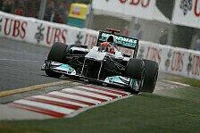 Formel 1 - Kein einfaches Wochenende: Schumacher nach Aus: Sicherheit ging vor