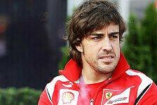 Formel 1 - Verfolgen eine Linie: Alonso: Stewards machen guten Job