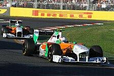 Formel 1 - Lektionen gelernt: Di Resta hofft auf st�rkeren Saisonstart