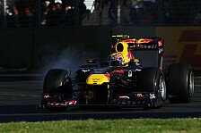 Formel 1 - Aufh�ngungs-Defekte bei Renault: 1. Training: Webber dominiert den Vormittag