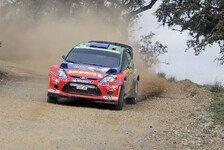 WRC - Top-5 sind m�glich: Solberg feiert in Jordanien Jubil�um