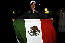 Formel 1 - Zu 100 Prozent sicher: Perez: Keine Zweifel an Mexiko GP 2015