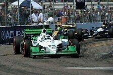 IndyCar - Paul, der b�se Bube: Simona de Silvestro nach Kollision ohne Chance