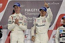 Blancpain GT Serien - Abu Dhabi