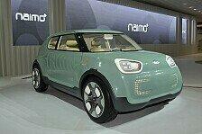 Auto - Koreanische Tradition mit neuesten Hightech-Elementen : Kia pr�sentiert die Elektroauto-Studie Naimo