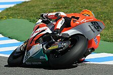 Moto2 - Achter Platz und viel probiert: Bradl mit neuen Teilen zufrieden