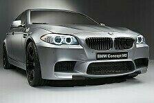 Auto - BMW auf der Auto Shanghai 2011: Weltpremiere: BMW Concept M5