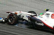 Formel 1 - Ecclestone-�rger dank Perez?: Pirelli erwartet zwei Boxenstopps in China