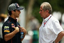 Formel 1 - Haben die gleichen M�glichkeiten: Ricciardo: Keine Angst vor Webber-Schicksal