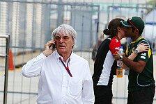 Formel 1 - Nur der Sound z�hlt: Ecclestone: Elektro-Formel im Rahmenprogramm