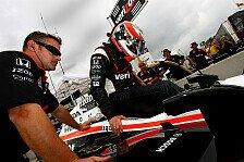 IndyCar - Erste Ausfahrt im Dallara DW12: Power nach Crash erstmals wieder im Auto