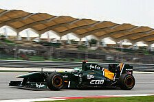 Formel 1 - Lotus liegt im Plan: Kovalainen denkt nicht an Abschied