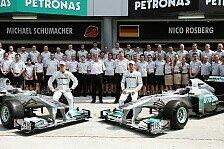 Formel 1 - Bis zu 100 Techniker sollen kommen: Mercedes verst�rkt auf Personal-Suche