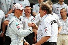 Formel 1 - Gut Ding braucht Weile: Schumacher: Es wird ein gutes Ende nehmen