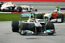 Formel 1 - Verstellbarer Heckfl�gel beste Idee aller Zeiten: Rosberg: Neuerungen schlagen voll ein