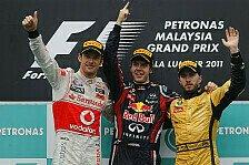 Formel 1 - Bilderserie: Die letzten 10 Jahre in Sepang