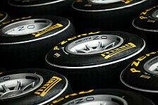 Formel 1 - Hart, weich und einmal superweich: Pirelli gibt Reifenwahl bis Monaco bekannt