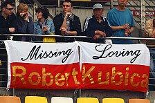 Formel 1 - Comeback jedoch nicht 2011: Lopez: Kubicas Genesung l�uft gut