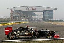 Formel 1 - Gen�gend kleine Updates: Renault: Neuer Heckfl�gel f�r T�rkei GP