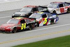 NASCAR - Hendrick-Piloten belegen die ersten vier Pl�tze : 70. Pole f�r Jeff Gordon