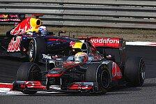 Formel 1 - Irrer China-Thriller: China: Hamilton verhindert Vettels Sieg-Hattrick