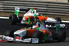 Formel 1 - Weiterhin voll konzentriert: Mercedes-Ger�chte lassen Di Resta kalt