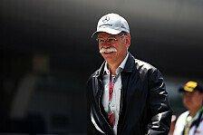 Formel 1 - Dann greifen die �nderungen: Zetsche erwartet Mercedes 2014 im Titelkampf