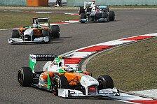 Formel 1 - Anderer Druck: Di Resta: Mehr Fehler, als man sieht