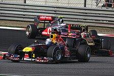 Formel 1 - Ein Schl�sselfaktor: Webber: KERS-Problem schnellstens l�sen