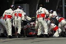 Formel 1 - Fehler hat nichts am Ergebnis ver�ndert: Buttons Blackout in der Box