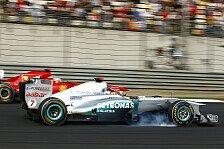 Formel 1 - Der Schnellere soll vorn sein: Schumacher von neuen Regeln begeistert