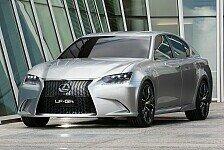 Auto - Weltpremiere auf der New York Auto Show 2011 : Neue Lexus Konzeptstudie LF-Gh