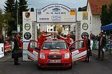 DRM - Sekundenkrimi bei der ADAC Vogelsberg Rallye: Spannung bis zum letzten Meter