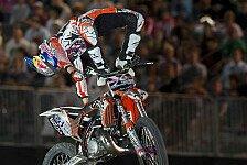 MX/SX - Kiwi gewinnt im Land der Champions: Red Bull X-Fighters - Sherwood siegt vor Torres