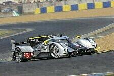 Mehr Motorsport - Pl�tze zwei, drei und vier: Le Mans - Audi in Lauerstellung