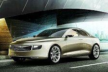 Auto - Skandinavischer Luxus f�r die Welt: Volvo Car Corporation pr�sentiert Concept Universe
