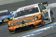DTM - Mercedes hoch drei: Warm Up: Schumacher schnappt sich die Bestzeit