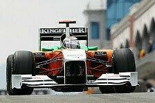 Formel 1 - Force India mit neuem Frontfl�gel: Sutil mit den ersten Eindr�cken zufrieden