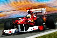 Formel 1 - Red Bull auf 1 & 2 normal: Alonso macht sich keine Sorgen