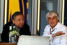Formel 1 - Ward als Todt-Herausforderer: Zwischen Ecclestone & Todt herrscht Krieg