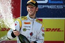 GP2 - Leimer erbt die Pole Position: Grosjean wegen Unterboden disqualifiziert