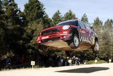 WRC - Mini jagt Skeleton-Schlitten: Video - Kris Meeke vs Amy Williams